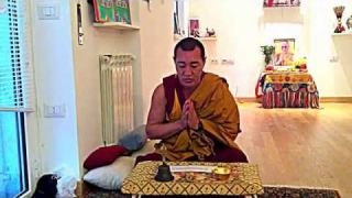 TIBETAN PUJA with Gaden Tehor monks at A.I.S.O. (Italy, Rome)